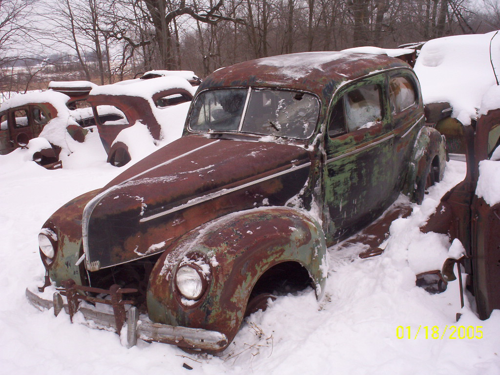 Ford 1941 Sedan Delivery Club Coupe 3000 Subframed Has 9 Inch Mustang Rearend