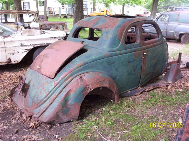 Ford1903 1941 for 1936 ford 3 window coupe project for sale