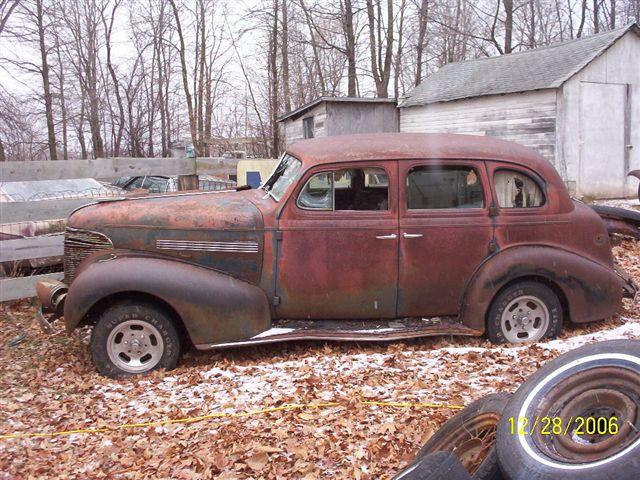 Chevy for 1939 chevy 4 door sedan