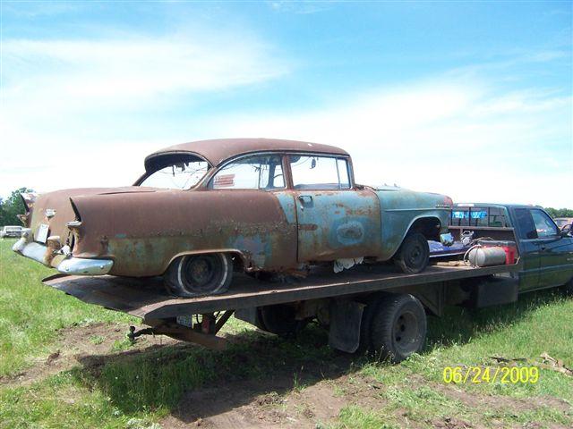 Chevy1942 up for 1955 chevy 4 door to 2 door conversion
